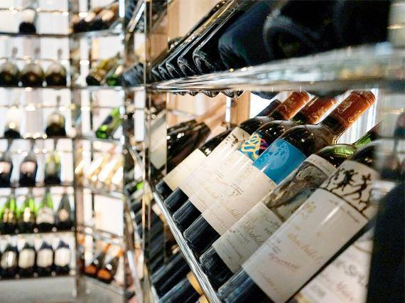wine bottle shop